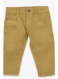 Jack Lions Erkek Çocuk Gabardin Pantolon Basic Fıstık Yeşili